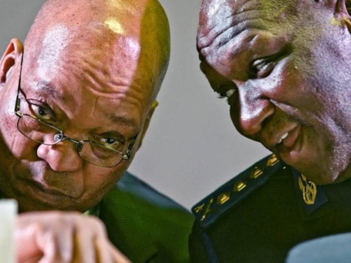 Image of Cele and Zuma