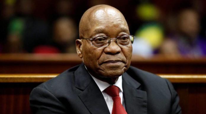 Jacob Zuma Prison